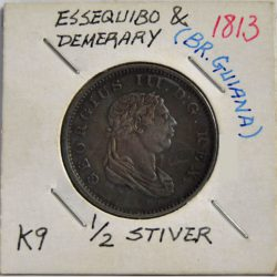 ½ Stiver Essequibo & Demerary