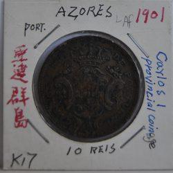 10 REIS Azores 1901
