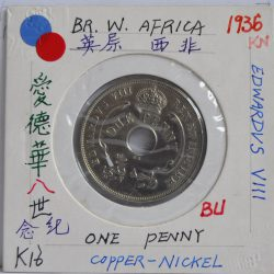 One penny British West Africa 1936 Edwardvs VIII