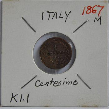 2 Centesimi Italy 1867