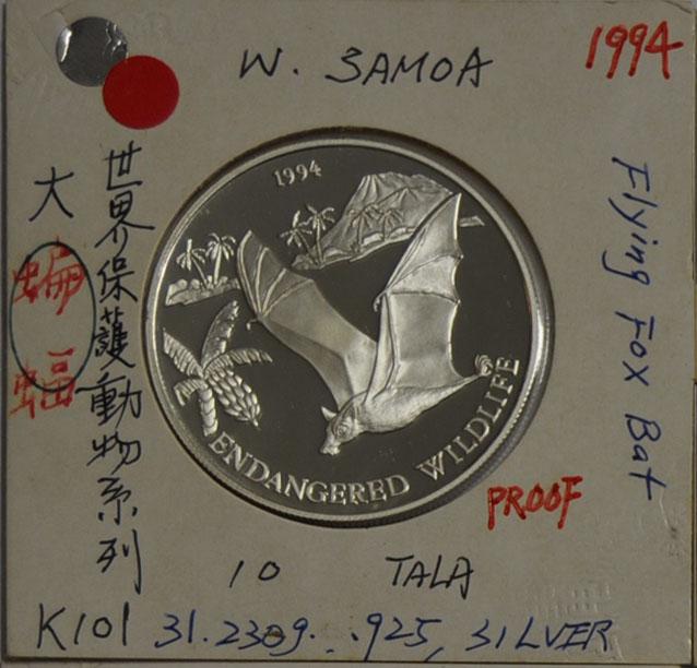 10 TALA Samoa 1927