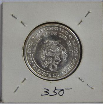 10000 SOLES Peru 1982