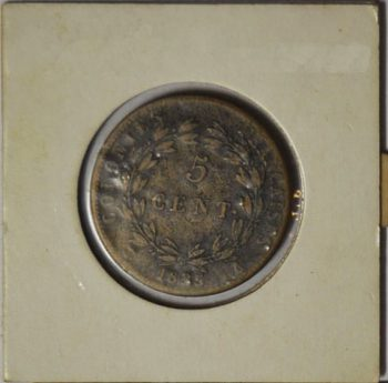 5 CENTIMES French Colonies 1825