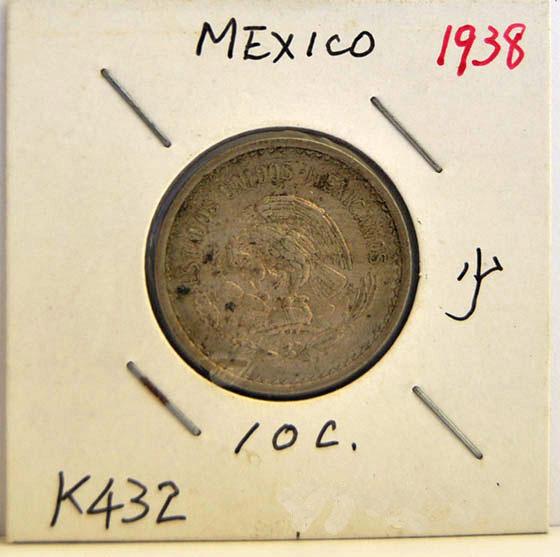 10 CENTAVOS Mexico 1938