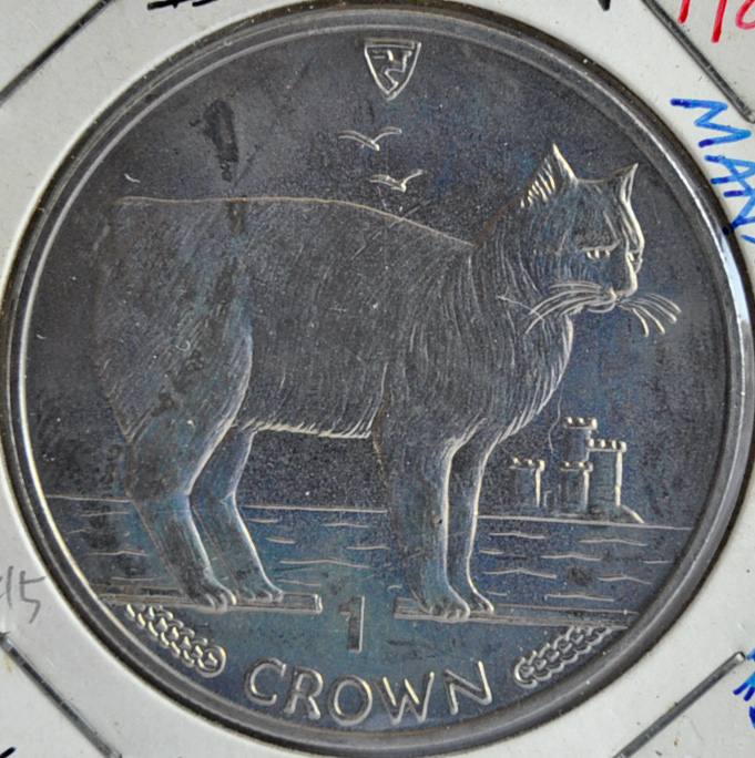 Isle Of Man CROWN 1988