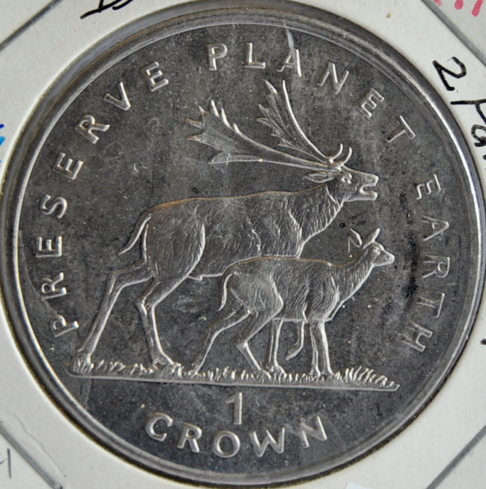 Isle Of Man CROWN 1994