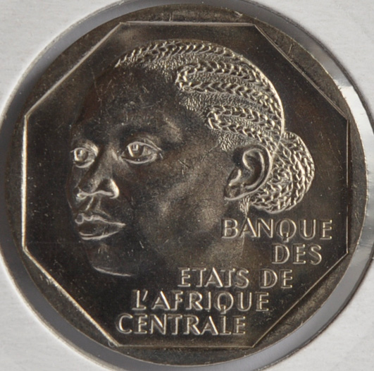 Cameroon French Mandate 500 FRANCS 1988