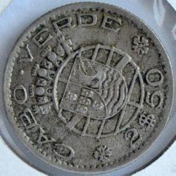 Cape Verde Portuguese Colony 2-½ ESCUDOS 1953