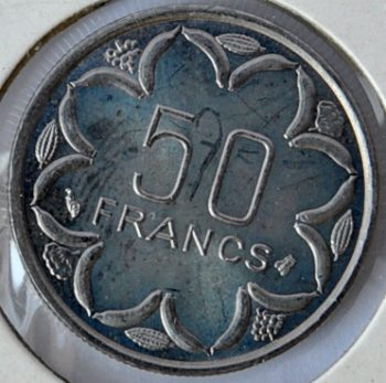Central African States 50 FRANCS 1996
