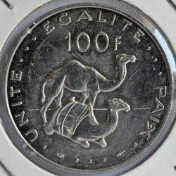 Djibouti 100 FRANCS 1991