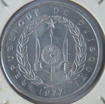 Djibouti 2 FRANCS 1997