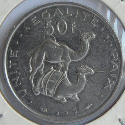 Djibouti 50 FRANCS 1983