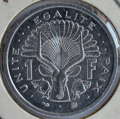 Djibouti FRANC 1996
