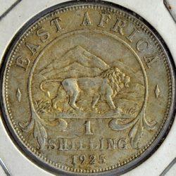 East Africa SHILLING 1925