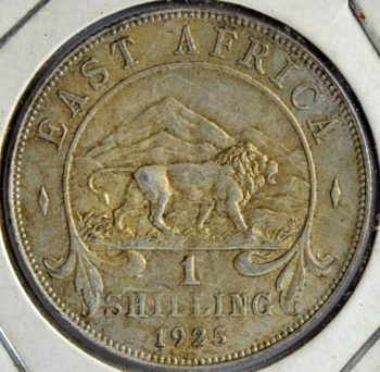 East Africa SHILLING 1925