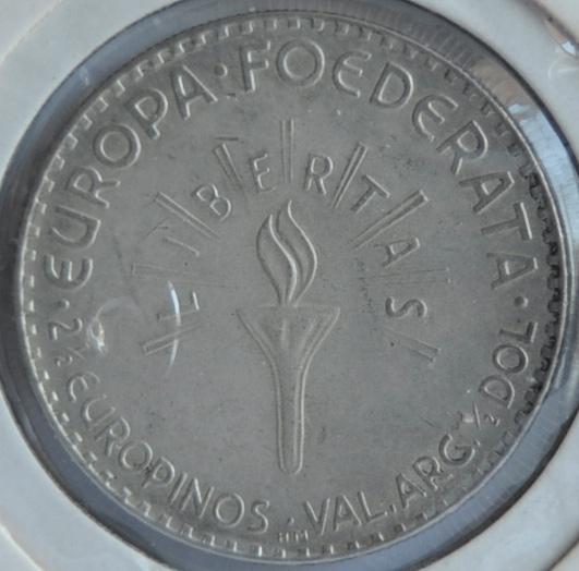 Europa 2 ½ Europinos 1952 HM