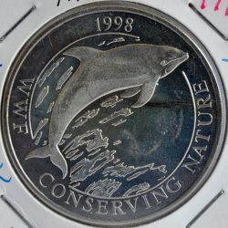 Falkland Islands 50 PENCE 1998