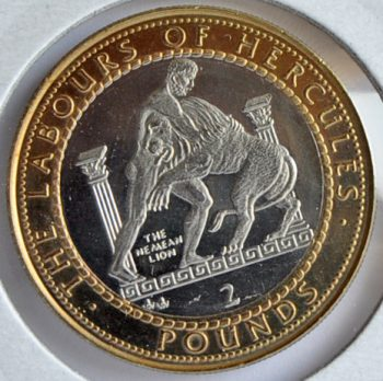 Gibraltar 2 POUNDS 1997