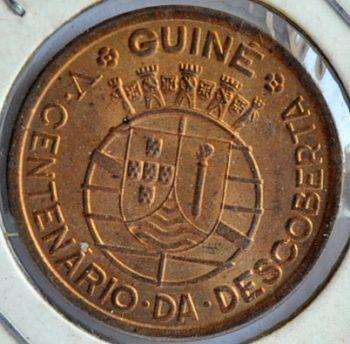 Guinea-Bissau Portuguese 50 CENTAVOS 1946