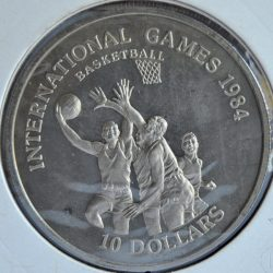 Liberia 10 DOLLARS 1984