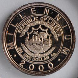 Liberia DOLLAR 2000 American Quarter Horse