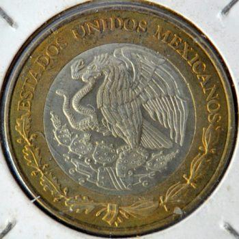 Mexico 10 NUEVOS PESOS 1998