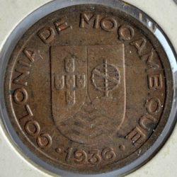 Mozambique 10 CENTAVOS 1936