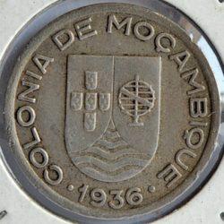 Mozambique 50 CENTAVOS 1936