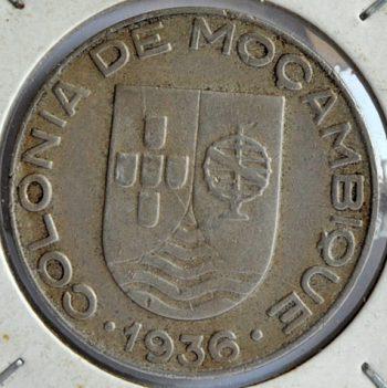 Mozambique ESCUDO 1936