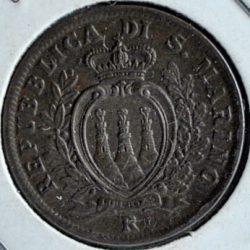 San Marino 5 CENTESIMI 1935