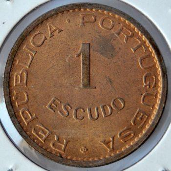 Timor Portuguese Colony ESCUDO 1970