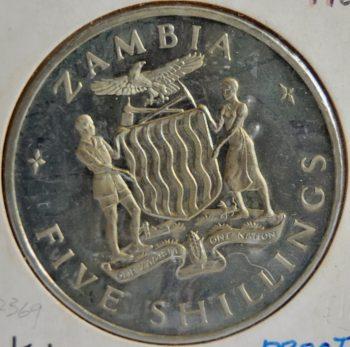Zambia 5 SHILLINGS 1965