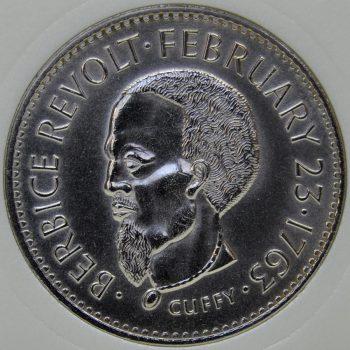 Guyana 1 DOLLAR 1970 KM# 36 Series F.A.O